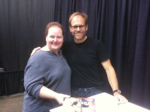 Alton Brown and Lynda
