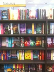 Romance Book Shelves