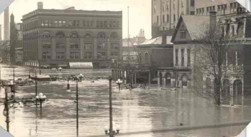 Dayton, Ohio Flood March 1913