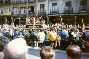Palm Sunday in Valladolid Spain