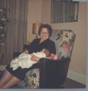 Grandma Ivy and me