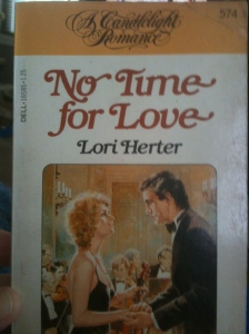 book cover NO time FOR love