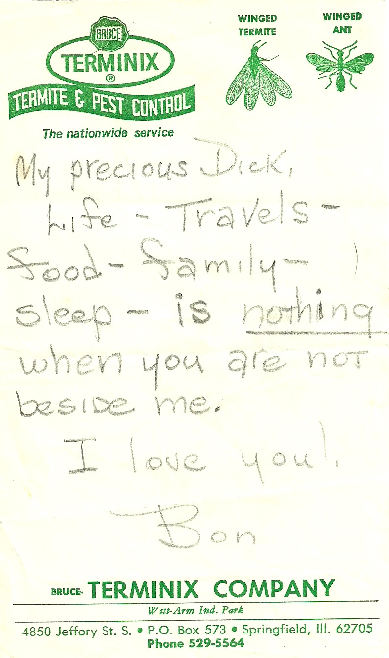 Monday Moments Love Letters